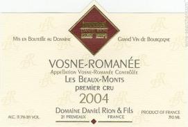 Domaine Daniel Rion - Vosne-Romanée (Wijn uit Bourgogne)