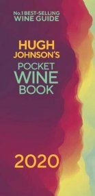 Hugh Johnsons's Pocket Wine Book 2020