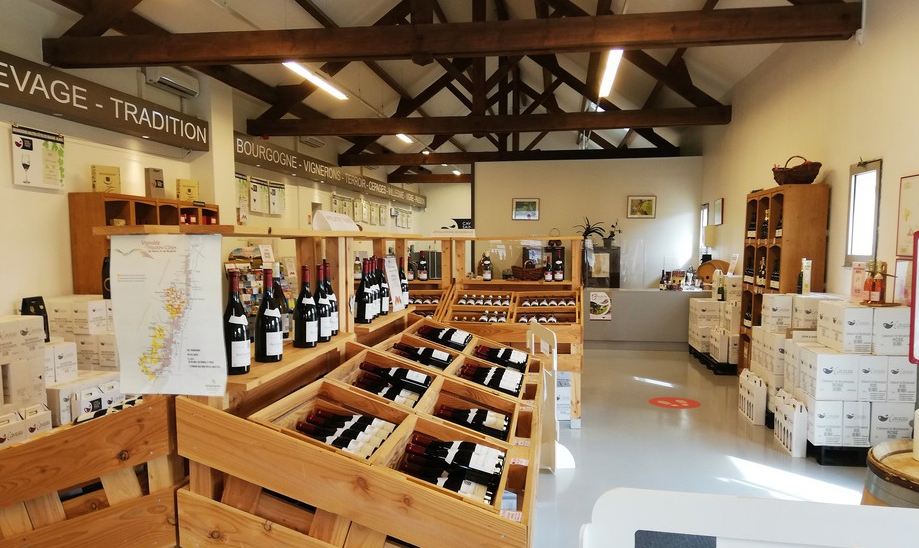 Cave Sainte-Marie-la-Blanche (Wijn uit Bourgogne)