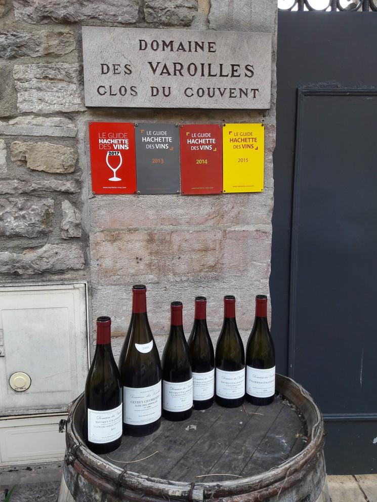Domaine des Varoilles in Gevrey- Chambertin (Wijn uit Bourgogne)