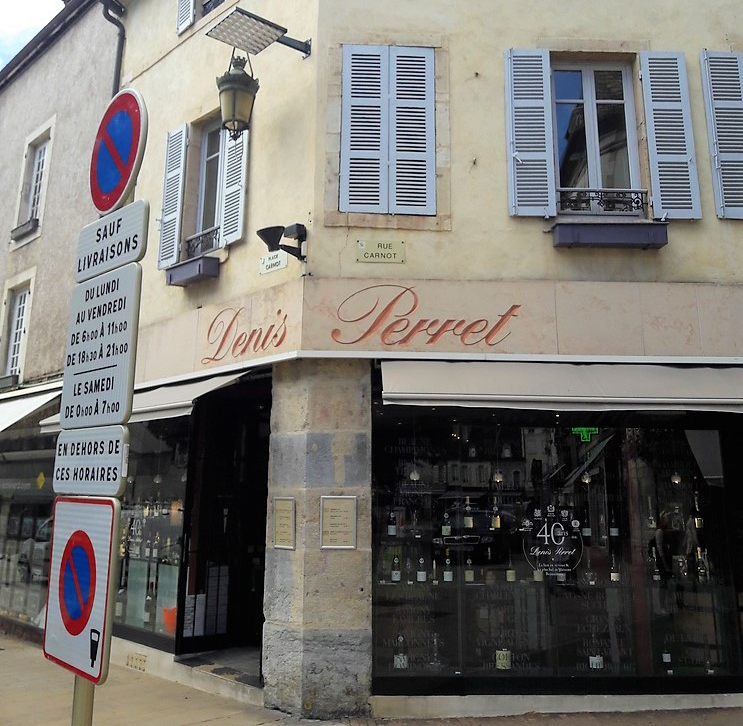 Denis Perret in Beaune (Wijn uit Bourgogne)