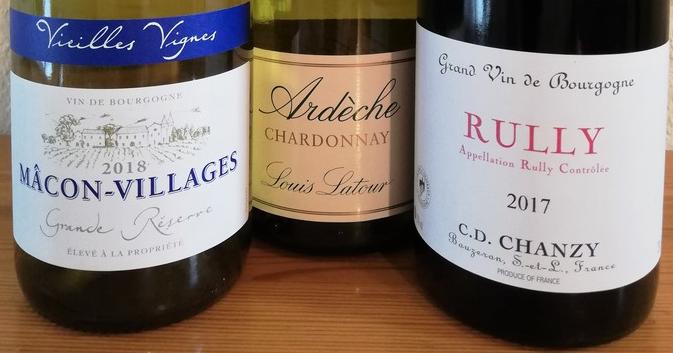 Belgische supermarkten (Wijn uit Bourgogne)
