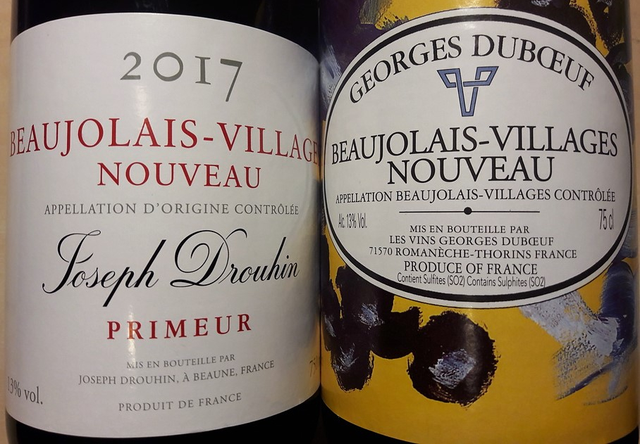 Beaujolais-Villages Nouveau (Wijn uit Bourgogne)