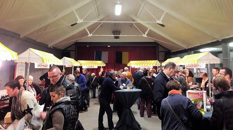 Salon des Vins de Bourgogne in Jalhay (Wijn uit Bourgogne)