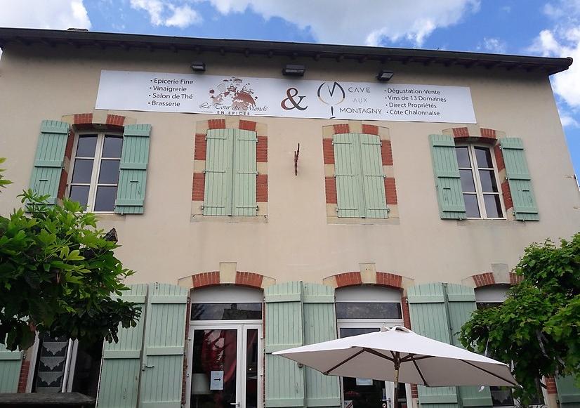 Cave aux Montagny in Buxy (Wijn uit Bourgogne)