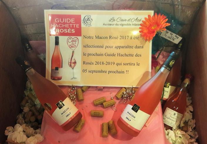 Rosé van Cave d'Azé (Wijn uit Bourgogne)