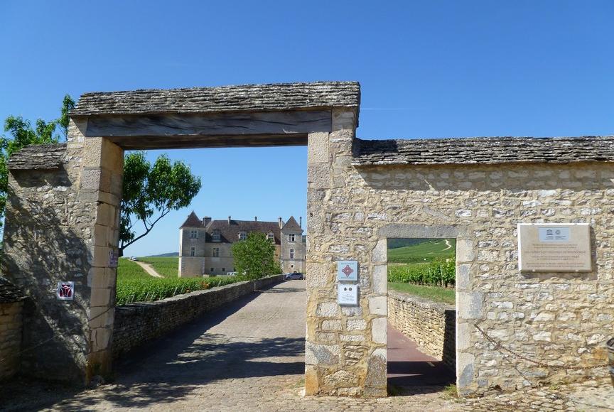 Clos de Vougeot en Château du Clos de Vougeot (Wijn uit Bourgogne)
